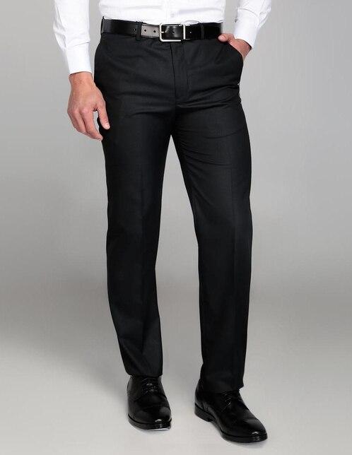 1bf2aec9fb44f Pantalón de vestir Perry Ellis corte regular negro