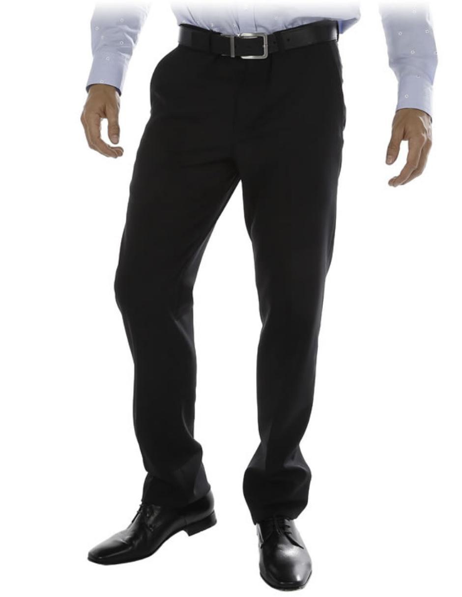4b8b22eeb9 Calvin Klein Pantalón de Vestir Corte Slim de Lana Precio Sugerido