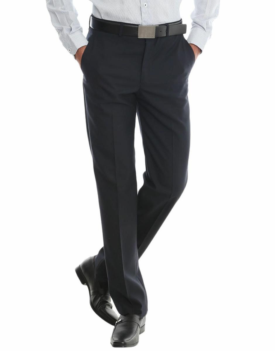 0dbb58f3a44a6 Perry Ellis Pantalón de Vestir Corte Regular 1 Pinza Mezcla de Lana